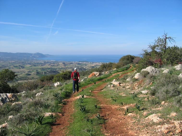 cyprus walks with a view